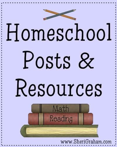 Homeschool Posts & Resources @ SheriGraham.com
