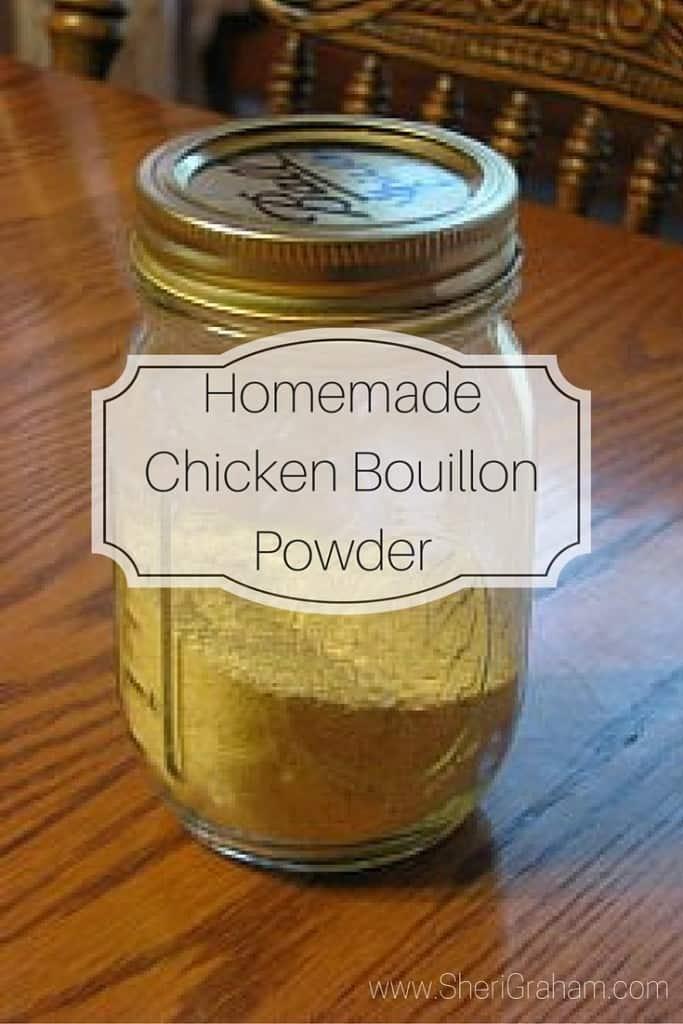 Homemade Chicken Bouillon Powder