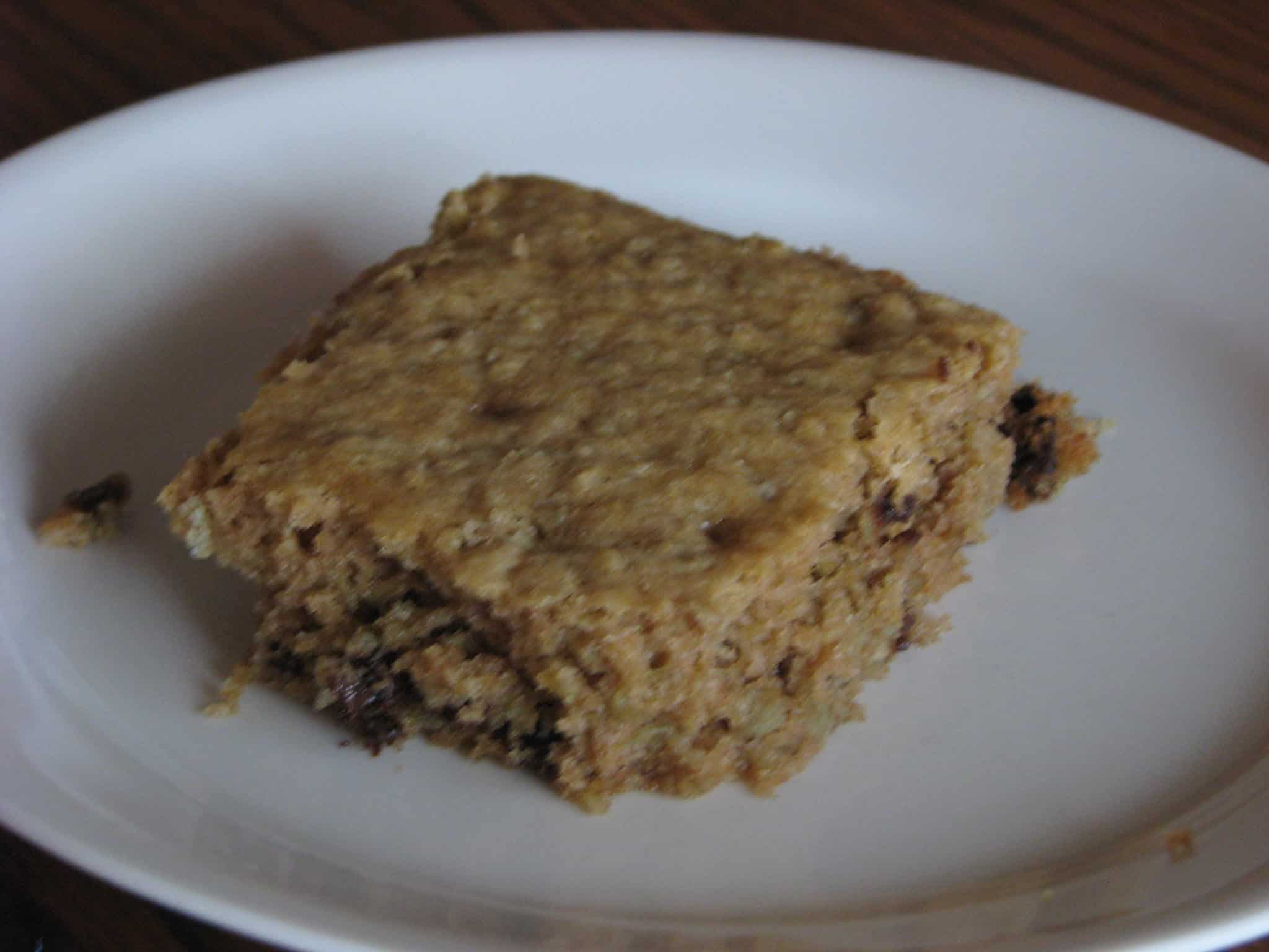 Oatmeal Breakfast Bars – With Leftover Oatmeal