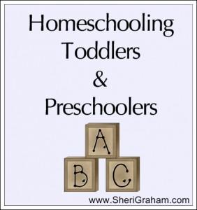 Homeschooling Toddlers & Preschoolers