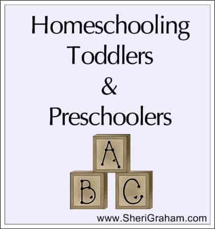 Homeschooling Todders & Preschoolers