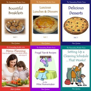 Homemaking Booklet Series - Ebook Bundle