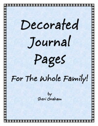 Decorated Journal Pages for the Whole Family
