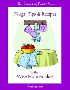 Frugal Tips & Recipes for the Wise Homemaker (Kindle book)