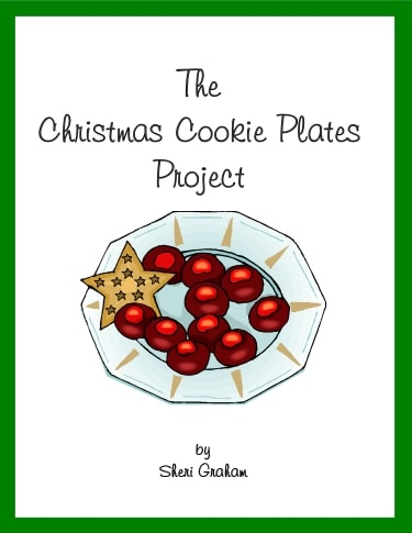 The Christmas Cookie Plates Project