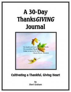 A 30-Day ThanksGIVING Journal