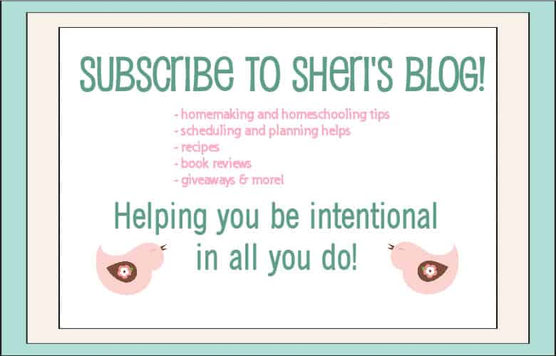 Sheri&#8217;s Blog