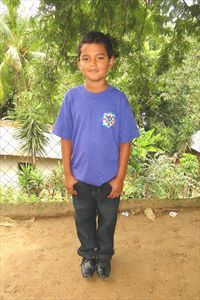 Our new Compassion child…Oscar