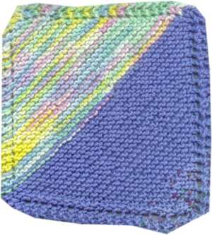 Homemade for the Holidays #4:  Knitted Dishcloth