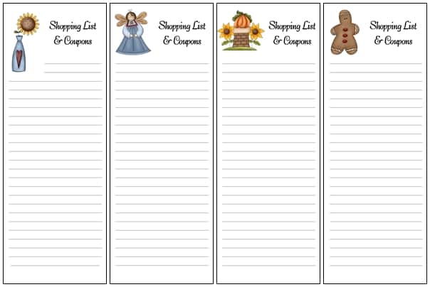 Homemade for the Holidays #6: Shopping List Envelopes