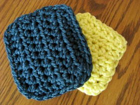 Crocheting Scrubbies : Homemade for the Holidays #13: Crocheted Scrubbies
