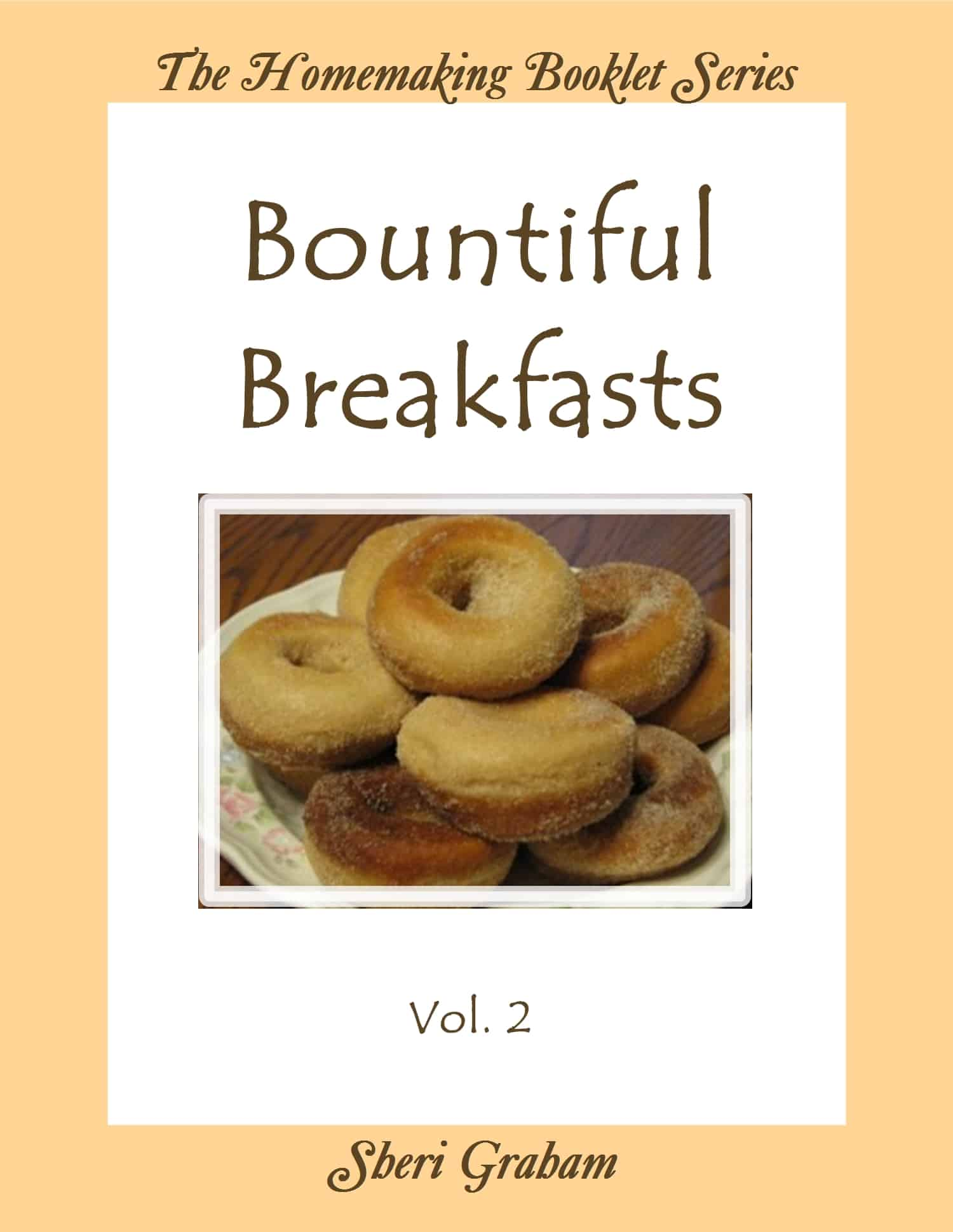 Bountiful Breakfasts - Vol. 2 (Kindle book)