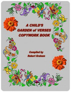 A Child's Garden of Verses Copywork Book