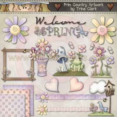 Clip Art Kit: Spring Stuff 1