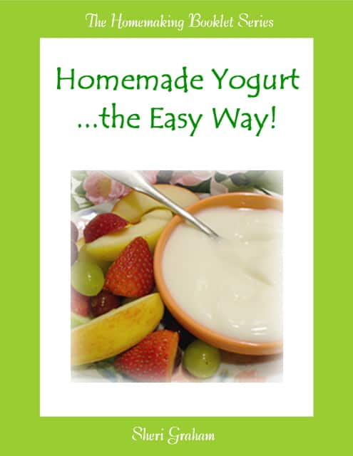 Homemade Yogurt the Easy Way (Kindle book)