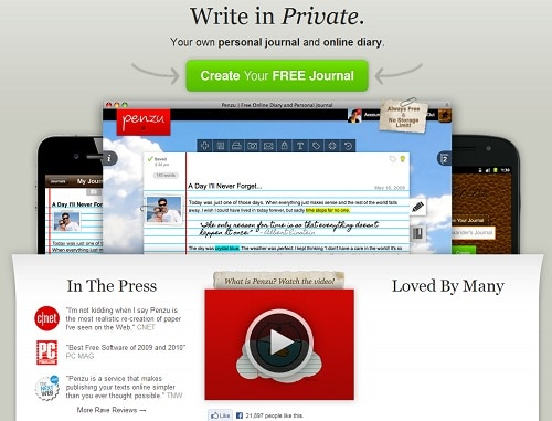 Try this FREE online journal today!