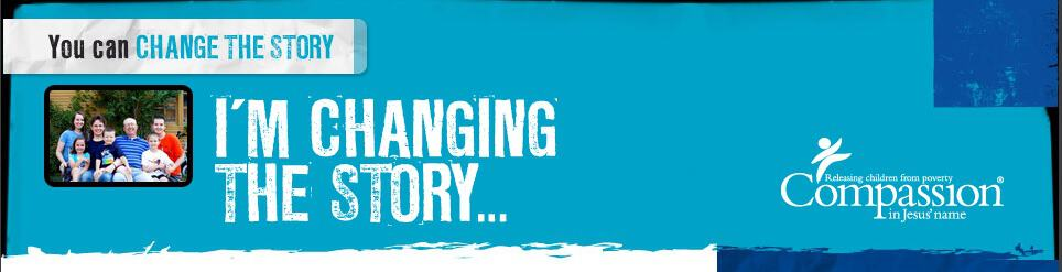 We are changing the story in a child's life…how about you?
