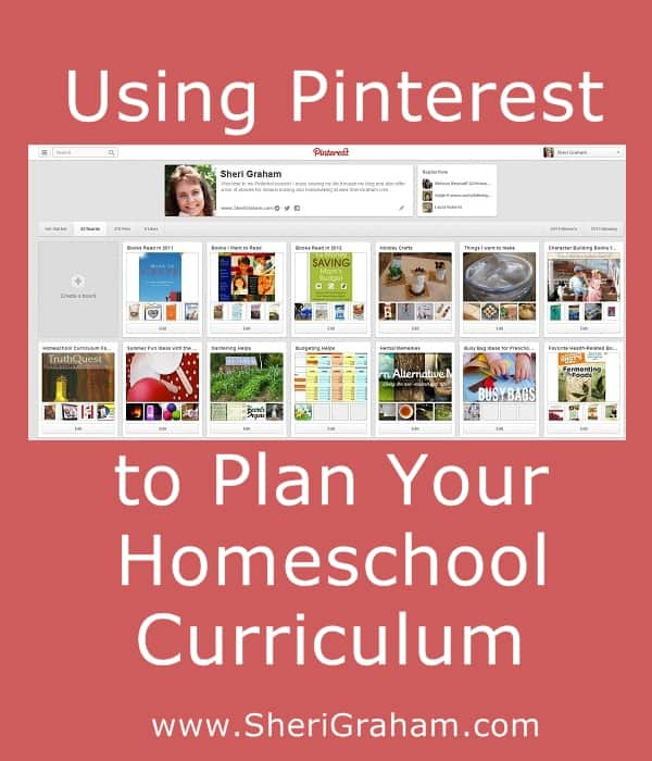 Using Pinterest to Plan Your Homeschool Curriculum