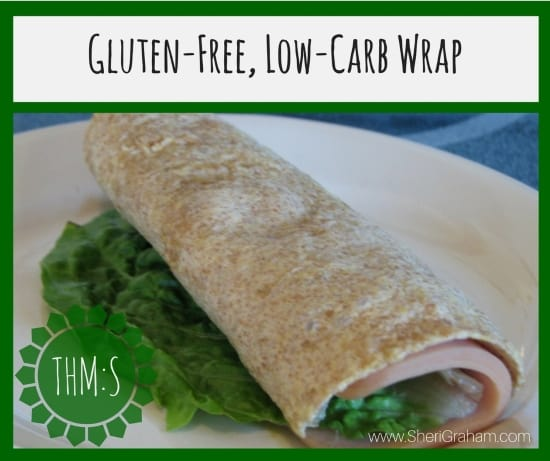 Gluten-Free, Low Carb Wrap