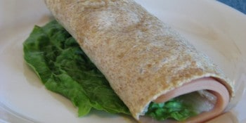 Homemade Gluten-Free Low-Carb Wrap