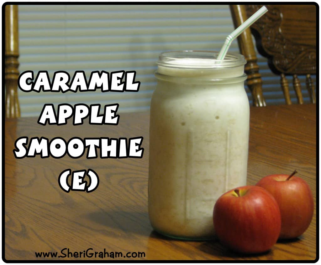 Trim Healthy Mama {Caramel Apple Smoothie}