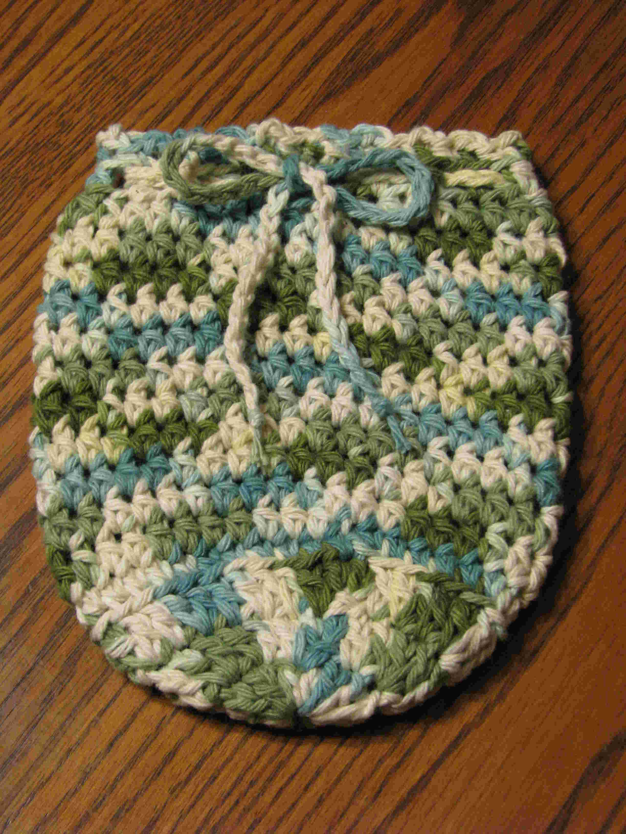 Quart Jar Cozy (Earth Tones: Green/Blue/White)