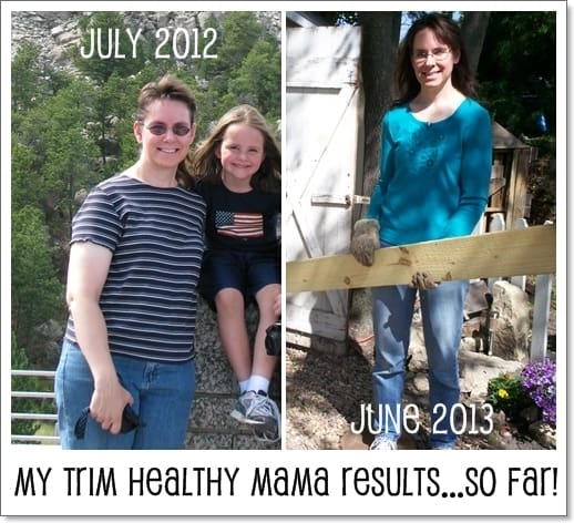 My Trim Healthy Mama Results - before & after!