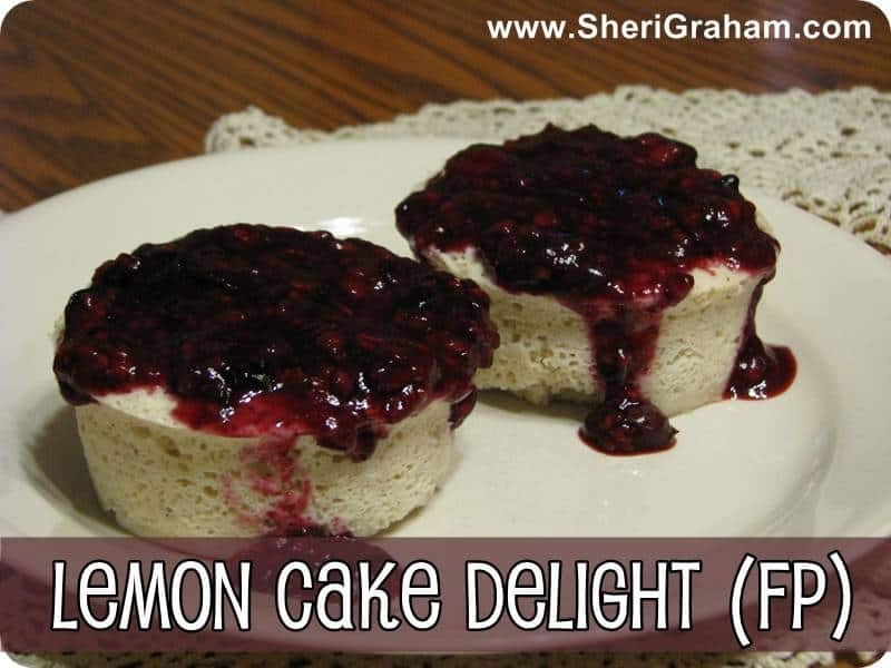 Trim Healthy Mama {Lemon Cake Delight – FP}