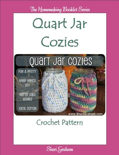 Quart Jar Cozies - Crochet Pattern
