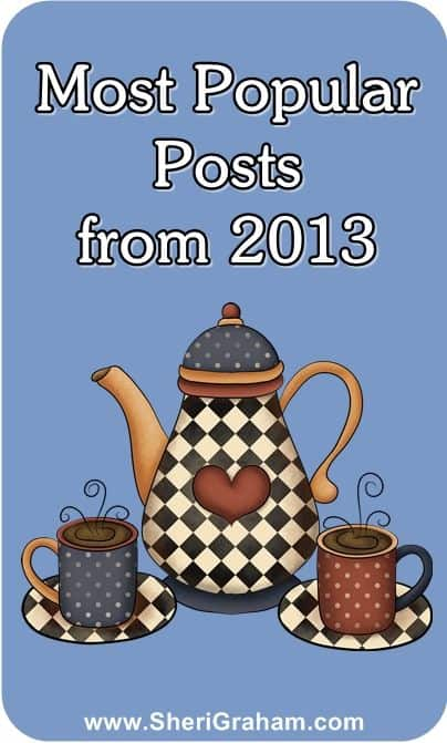 Most Popular Posts from 2013