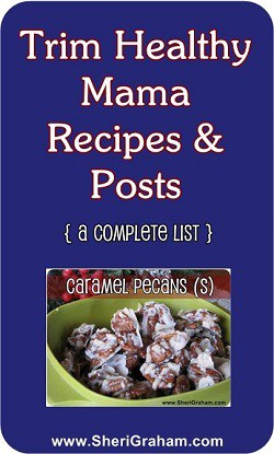 Trim Healthy Mama Recipes and Posts