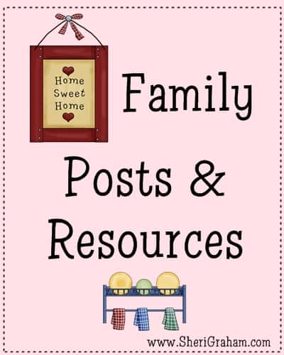 Family Posts & Resources @SheriGraham.com