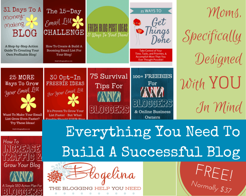 Free Blogging Bundle for Moms!