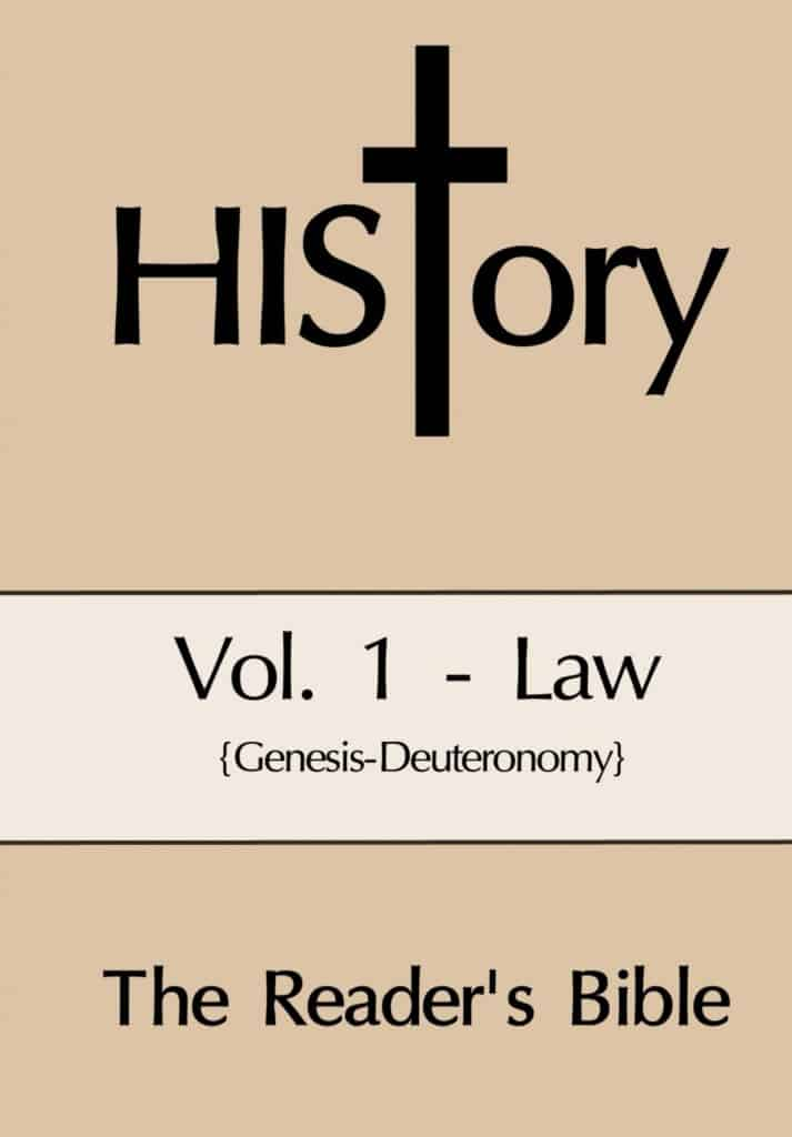 HIStory: The Reader's Bible Vol. 1-Law (Softcover)