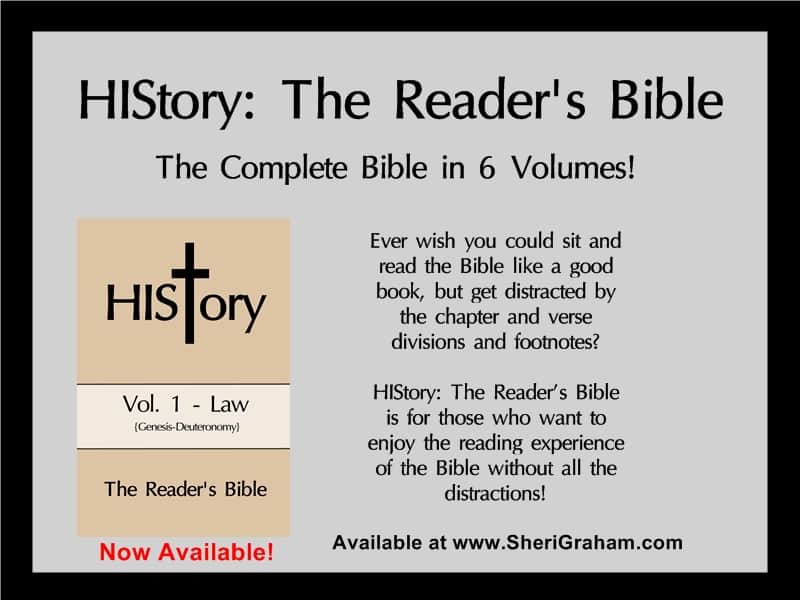 HIStory: The Reader's Bible @ www.SheriGraham.com