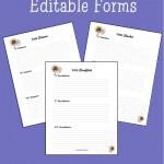 Trim Healthy Mama Meal Ideas - Free Editable Forms @SheriGraham.com