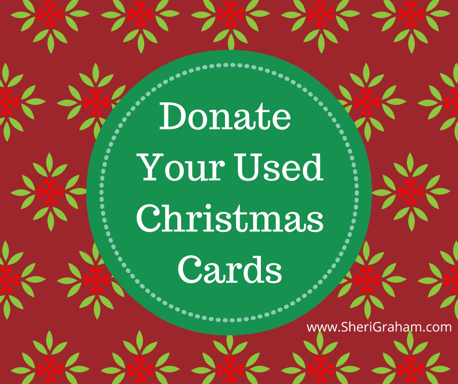 Donate Your Used Christmas Cards!