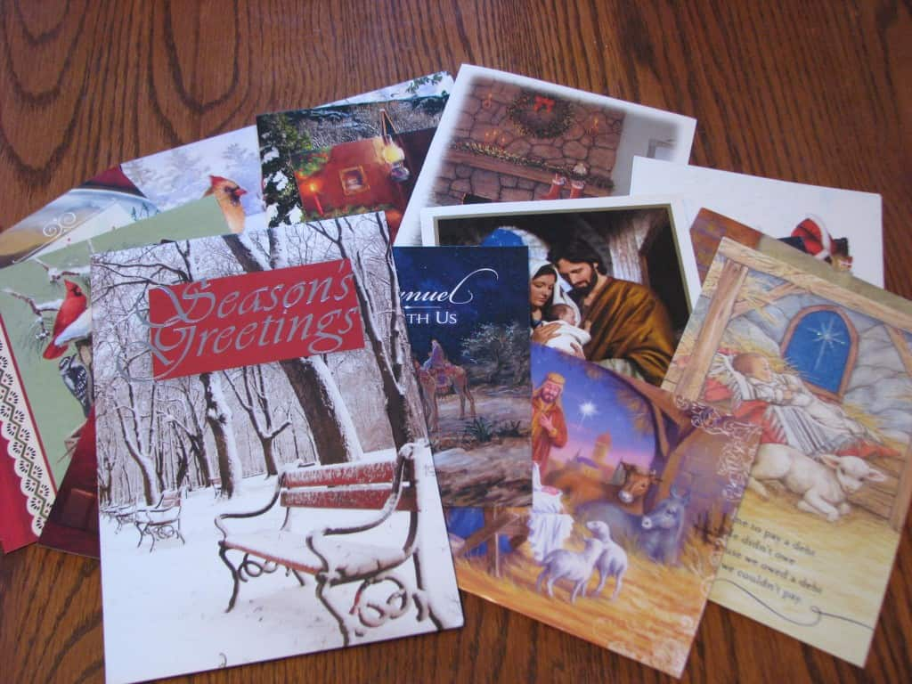 Christmas Cards to Donate