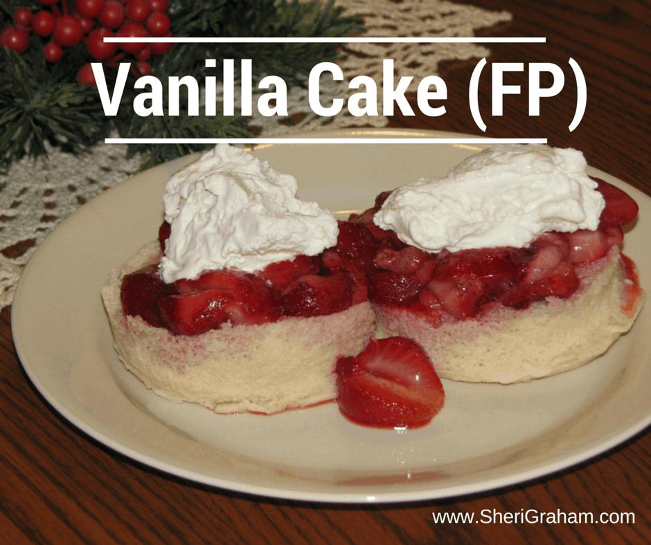 Trim Healthy Mama {Vanilla Cake – FP}