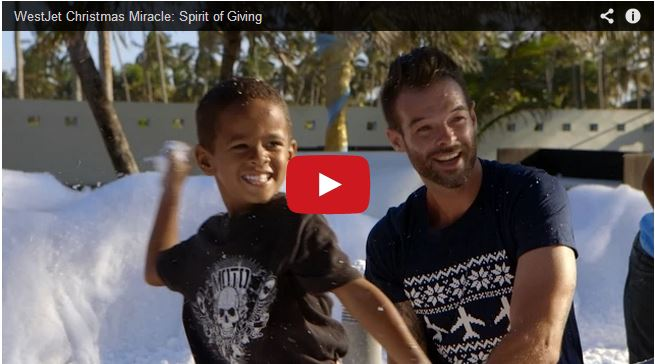 Another WestJet Miracle: Spirit of Giving {a MUST SEE video}