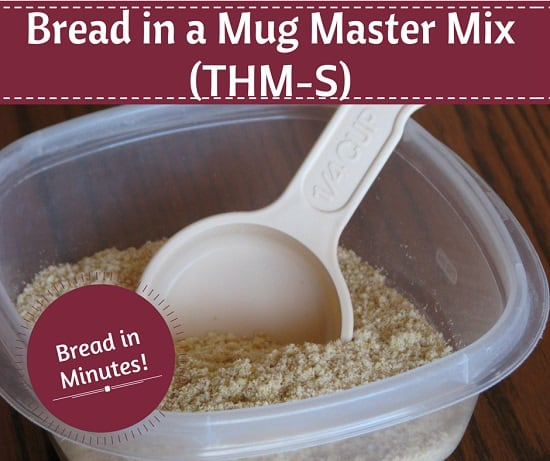 Bread in a Mug Master Mix (THM-S)