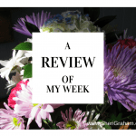 A Review of My Week (01/09/15)