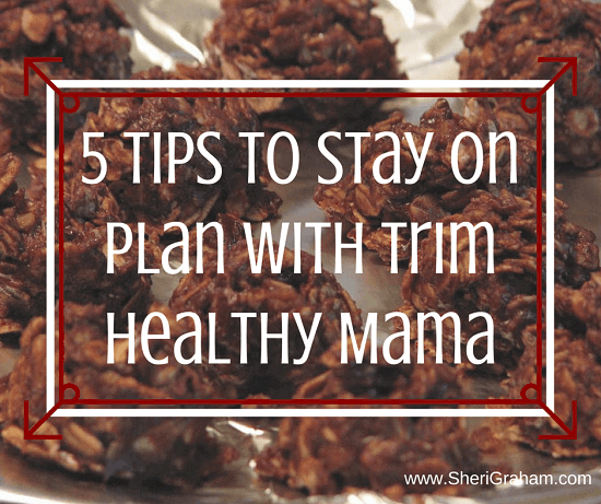 5 Tips to Stay on Plan with Trim Healthy Mama