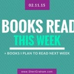 Books Read This Week + Books I Plan to Read This Coming Week
