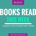 Books Read This Week - 04-22