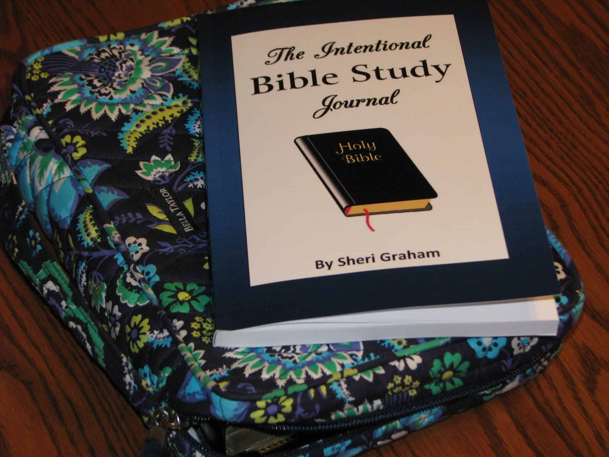 My study through Galatians with The Intentional Bible Study Journal
