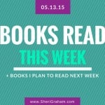 Books Read This Week - 05-13