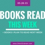Books Read This Week - 05-20