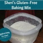 Sheri's Gluten-Free Baking Mix