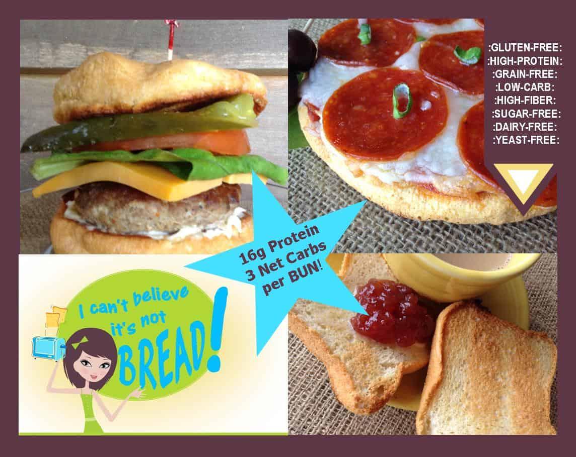 NEW! Gluten-Free Bread Recipe Ebook by Erica Greene